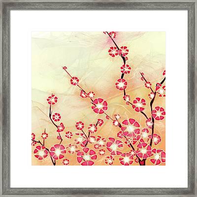 Cherry Blossom Framed Print by Anastasiya Malakhova