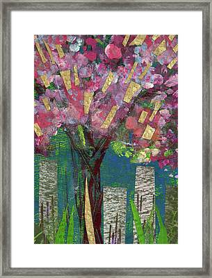 Cherry Blossom Too Framed Print