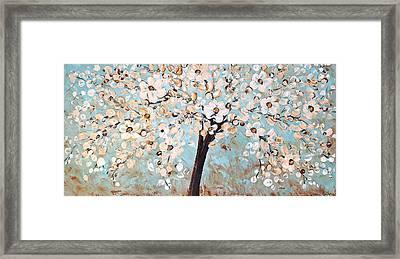 Cherry Blossoms Framed Print by Jolina Anthony