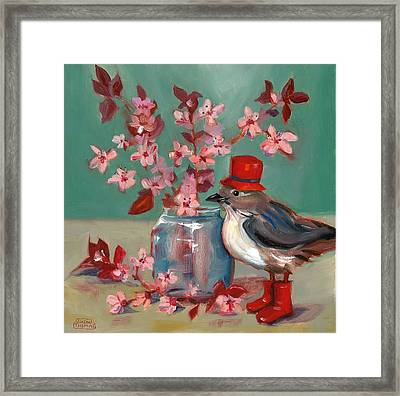 Cherry Blossoms Framed Print by Susan Thomas