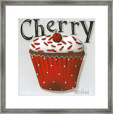 Cherry Celebration Framed Print by Catherine Holman