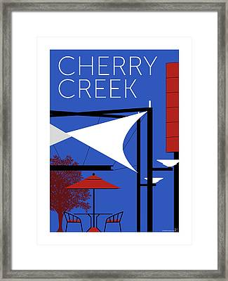 Cherry Creek Blue Framed Print