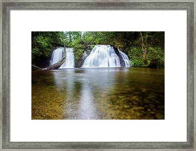 Cherry Creek Falls Framed Print by Pelo Blanco Photo