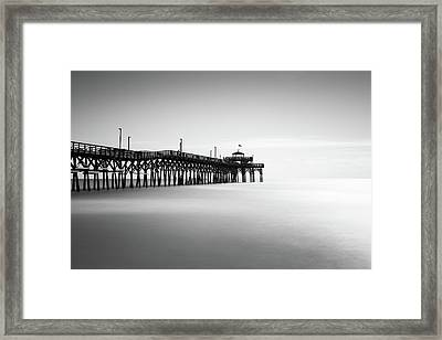 Cherry Grove Fishing Pier Framed Print