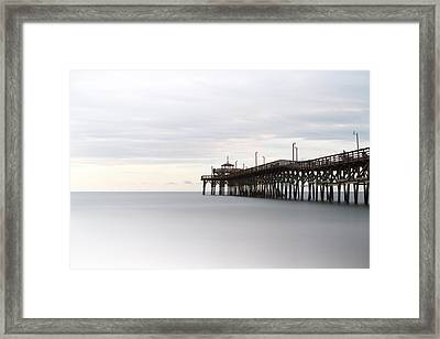 Cherry Grove Pier II Framed Print