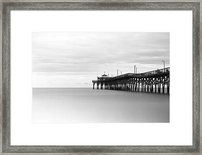 Cherry Grove Pier Framed Print