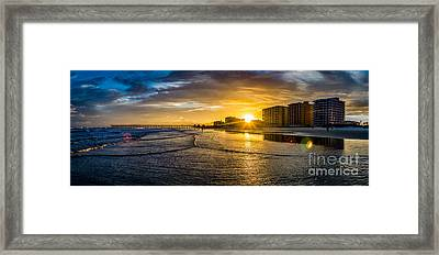 Cherry Grove Sunset Framed Print