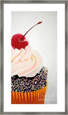 Cherry On Top Framed Print by Devan Gregori