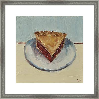 Framed Print featuring the painting Cherry Pie by Lindsay Frost