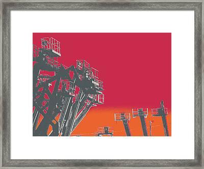 Cherry Framed Print by Shay Culligan