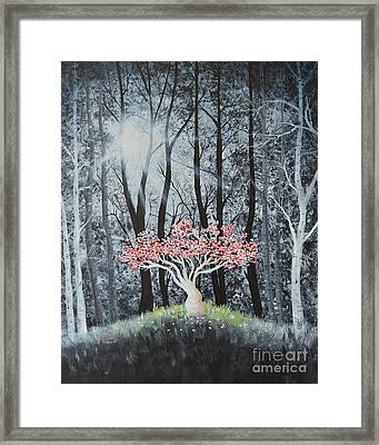 Cherry Surprise Framed Print