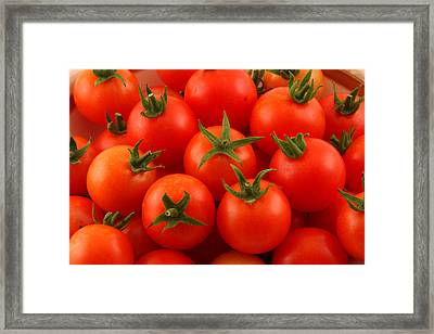 Cherry Tomatoes Fine Art Food Photography Framed Print by James BO  Insogna