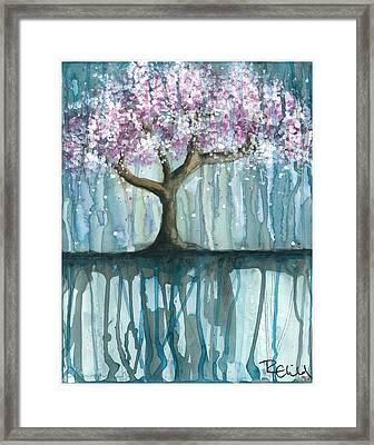 Fruit Tree #2 Framed Print by Rebecca Childs
