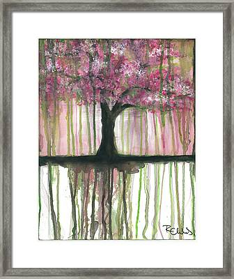 Fruit Tree #3 Framed Print by Rebecca Childs
