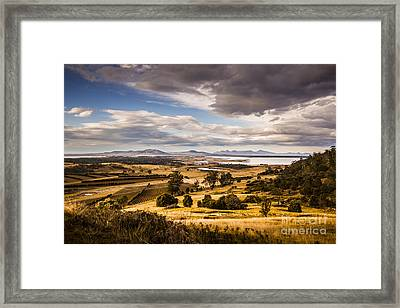 Cherry Tree Hill Lookout Framed Print by Jorgo Photography - Wall Art Gallery