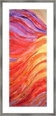 Cherubim Framed Print by Deborah Brown Maher