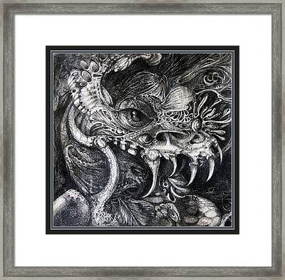 Cherubim Of Beasties Framed Print by Otto Rapp