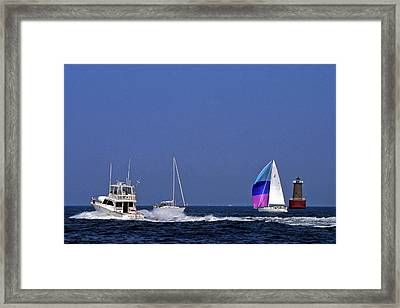 Chesapeake Bay Action Framed Print