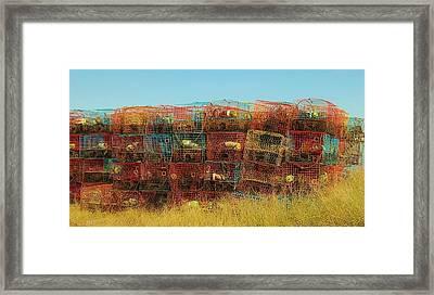 Chesapeake Bay Crabbing Framed Print
