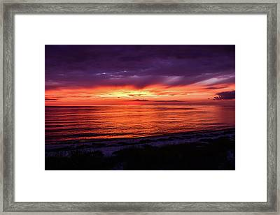Chesapeake Bay Sunset Framed Print