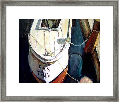 Chesapeake Boat Framed Print by Bob Dornberg