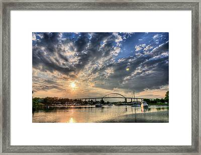 Chesapeake City Framed Print