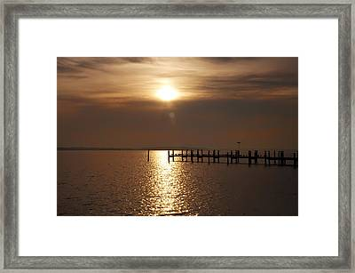 Chesapeake Morning Framed Print by Bill Cannon