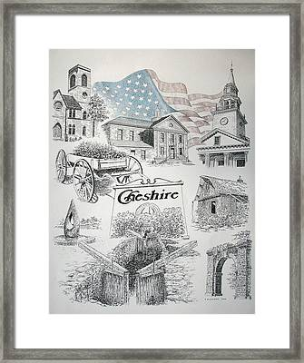 Cheshire Historical Framed Print