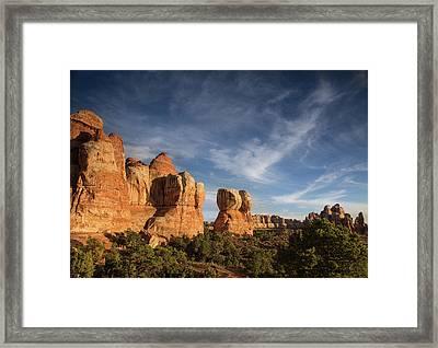 Chesler Park Sunset Framed Print by Kunal Mehra