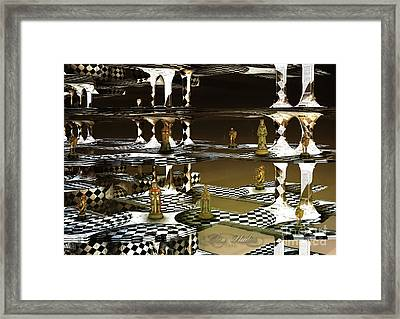 Chess Anyone Framed Print by Melissa Messick