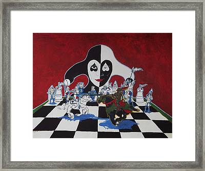 Chess Anyone? Framed Print by Ron Moses