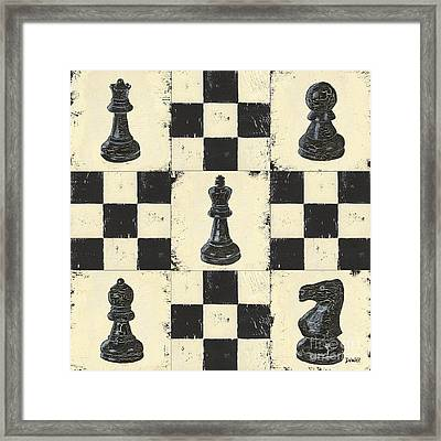 Chess Pieces Framed Print by Debbie DeWitt