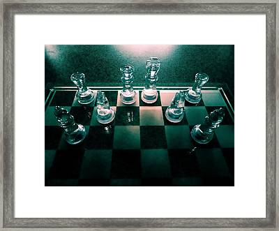 Chess Porn  Framed Print by Steve Taylor