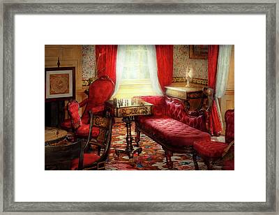 Chess - The Elegance Of Chess Framed Print