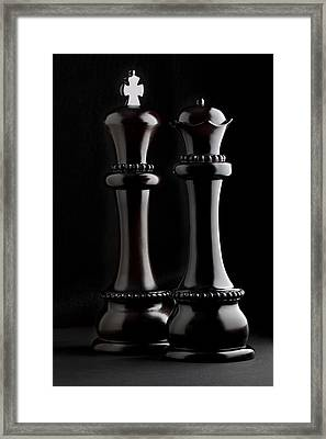 Chessmen I Framed Print by Tom Mc Nemar