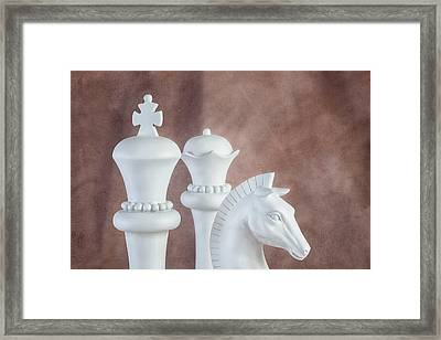 Chessmen Vi Framed Print by Tom Mc Nemar