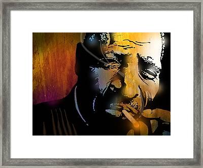 Chester Burnett Framed Print by Paul Sachtleben
