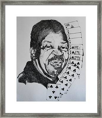 Chester Johnson Tribute  Framed Print