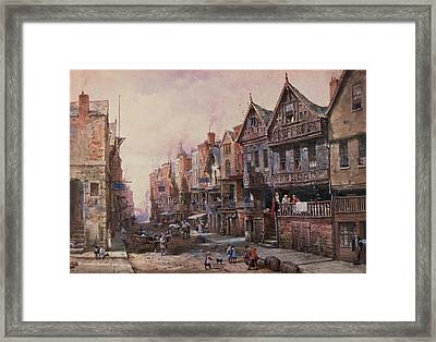 Chester Framed Print by Louise J Rayner