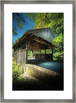 Chester Pennsylvania Bridge Framed Print by Marvin Spates