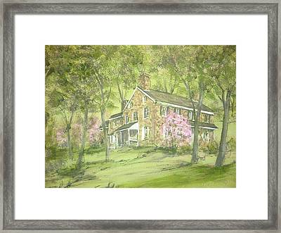 Chester Springs Framed Print by David Bruce Michener
