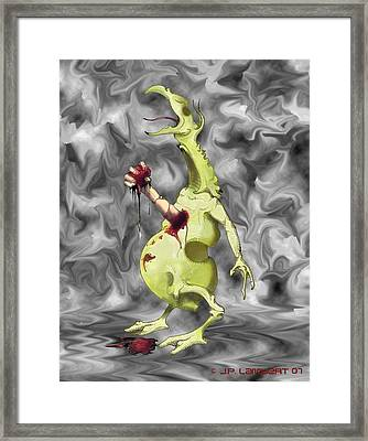 Chesterbuster Framed Print by J P Lambert