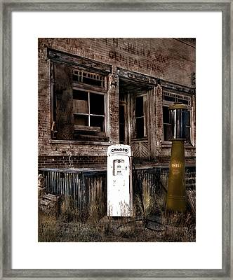 Chesterfield Framed Print by Leland D Howard