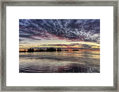 Chesterman Beach Sunset Framed Print by Mark Kiver