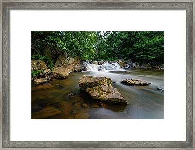 Chestnut Creek Falls  Framed Print