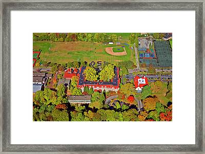 Chestnut Hill Academy 500 West Willow Grove Avenue Framed Print by Duncan Pearson