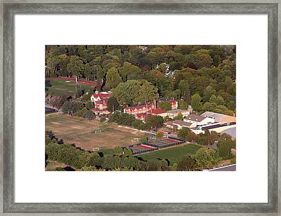Chestnut Hill Academy 500 West Willow Grove Avenue Philadelphia Pa 19118 4198 Framed Print by Duncan Pearson