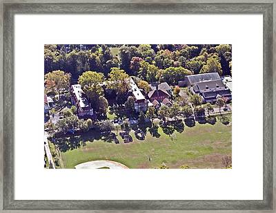Chestnut Hill Academy Oct 13th 2010 2 Framed Print by Duncan Pearson