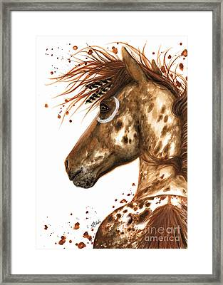Appaloosa Horse Framed Print by AmyLyn Bihrle