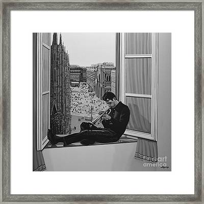 Chet Baker Framed Print by Paul Meijering